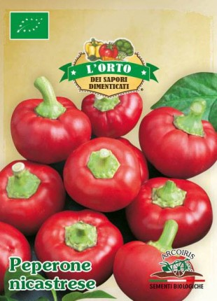 Chili Pepper Nicastrese - Organic Seeds