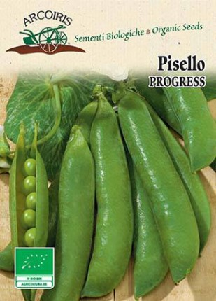 Pead A Grano Rugoso Progress N.9 - Organic Seeds